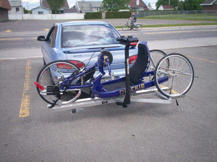 Support à vélo adapté